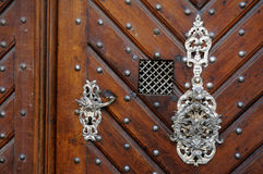 Old style door Royalty Free Stock Photography