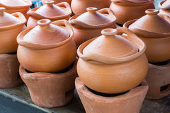 Old style earthwnware Royalty Free Stock Images