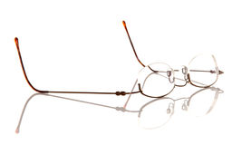 Old Style Eyeglasses Royalty Free Stock Photos