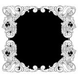 Old style frame Royalty Free Stock Photo