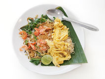Old style fried noodle Royalty Free Stock Photography
