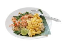 Old style fried noodle Royalty Free Stock Photo
