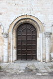 Old style front door Stock Photography