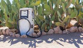 Old style fuel pump Royalty Free Stock Photography