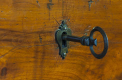 Old-Style Furniture Key Royalty Free Stock Images