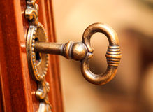 Old-Style Furniture Key Royalty Free Stock Photo