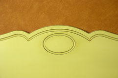 Old style headboard Royalty Free Stock Photography