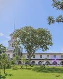 Old Style Hotel at Iguacu Park Brazil Royalty Free Stock Photography