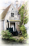 Old style house. Delft, Netherlands Stock Images