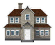 Old style house Royalty Free Stock Image