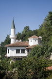 Old style house. The old palace in Balchik near the sea Stock Photography