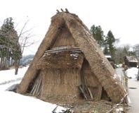 Old-style Japanese dwelling Stock Image