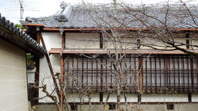 Old Style Japanese house Royalty Free Stock Image