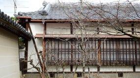 Old Style Japanese house Royalty Free Stock Image