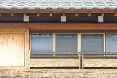 Old style Japanese house Stock Photos