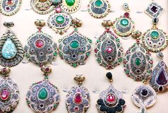 Old style jewels Royalty Free Stock Photos