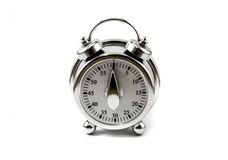 old style kitchen timer Royalty Free Stock Photo