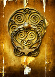 Old style knocker Stock Images