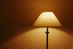 Old style lamp. In the room Stock Image