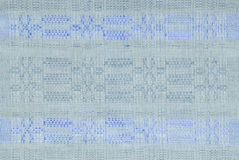 Old style linen fabric texture Stock Image