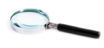 Old style loupe Royalty Free Stock Photo