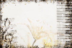 Free Old Style Music Background Stock Photo - 5900130