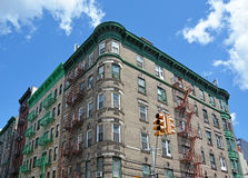 Old style NYC house Stock Photography