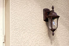 Old style outdoor light Royalty Free Stock Images