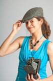 Old style paparazzi Stock Photos
