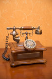 Old style phone Stock Image