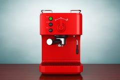 Old Style Photo. Espresso Coffee Making Machine Stock Photos