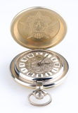 Old style pocket watch openen Stock Images
