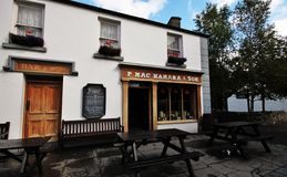Old style pub and restaurant in Bunratty village and folk park Royalty Free Stock Image