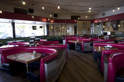 Old style restaurant Royalty Free Stock Photos
