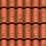 Old style roof tile Royalty Free Stock Photo