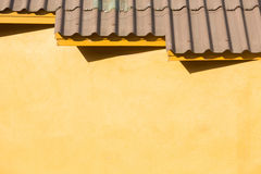 old style roof tile Stock Photo