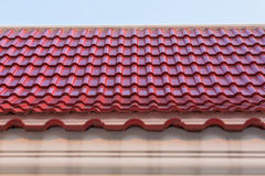 old style roof top Royalty Free Stock Images