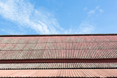 Old style roof top Stock Photos