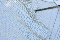 Old style ship net Royalty Free Stock Photos
