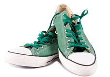Old style sneackers Royalty Free Stock Photography