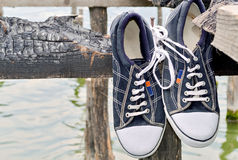 Old style sneakers A Stock Photography