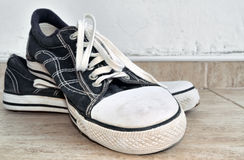 Old style sneakers Royalty Free Stock Photo