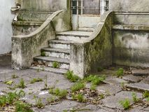 Old Style Stairway Door Entrance Stock Images