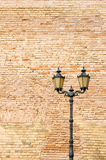 Old style street lamp Stock Photo