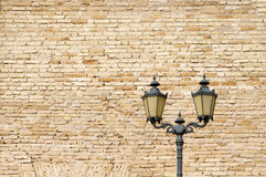 Old style street lamp Royalty Free Stock Photo