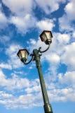 Old Style Street Lights, Daytime Stock Photo