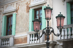 Old style street lights Royalty Free Stock Photos
