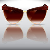Old style sunglasses Royalty Free Stock Photos