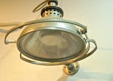 Old style of surgical lamps closeup Stock Photo