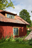Old style Swedish home Royalty Free Stock Image